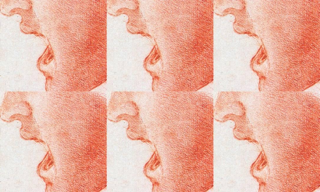  Foto: Intervenção sobre obra de Leonardo Da Vinci / Art Media / Print Collector / Getty Images