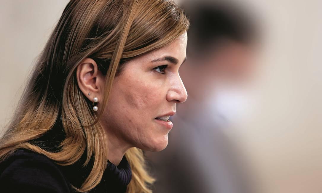 Mayra Pinheiro, que já foi candidata ao Senado pelo PSDB e, hoje, é vista como um nome forte do bolsonarismo no Ceará. Foto: Anderson Riedel / PR