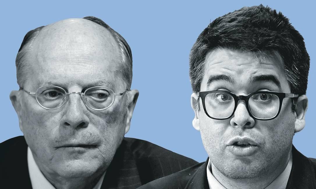 Foto: Montagem sobre fotos de Jefferson Rudy / Agência Senado; e Pedro França / Agência Senado