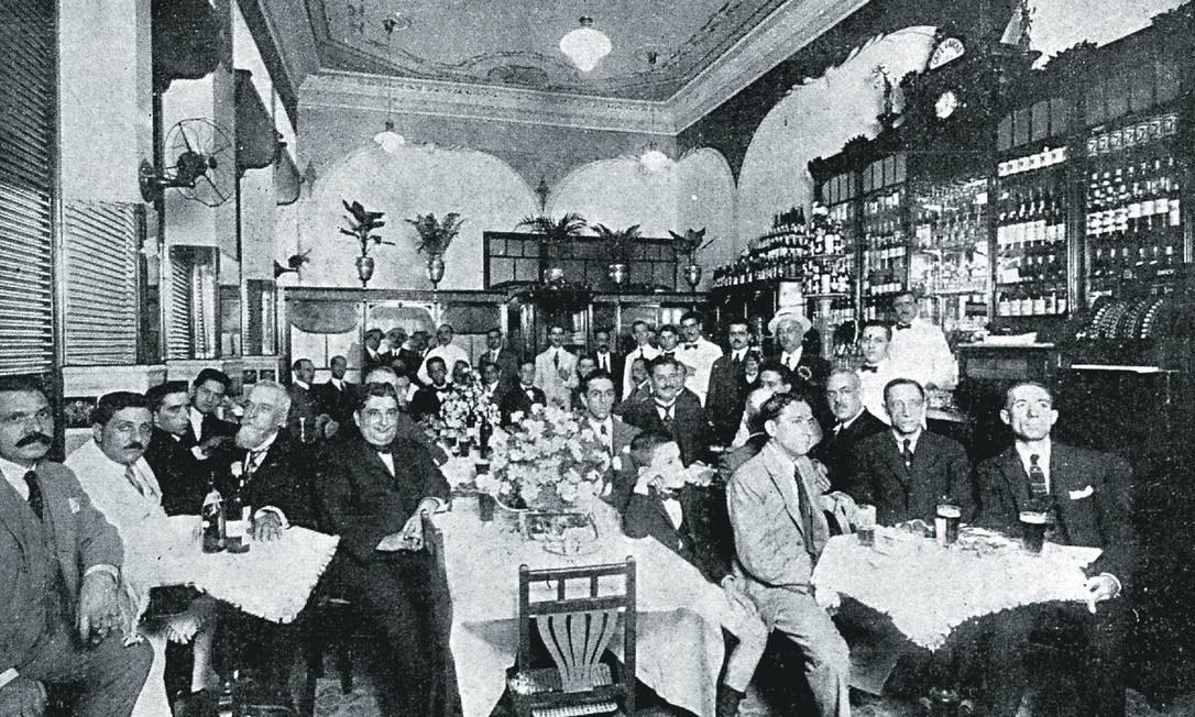 Foto: Página da revista Careta, edição 667, Março de 1921 / Reprodução