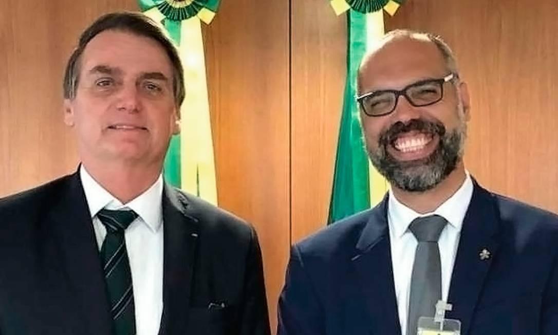 Bolsonaristas gritam contra o banimento do canal do militante Allan dos Santos, mas têm 57 ações de censura judicial. Foto: Reprodução
