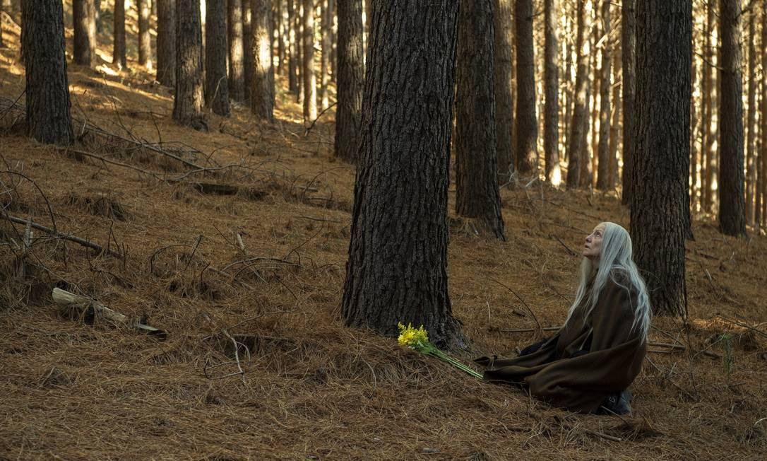 "Em ""Desalma"", Cássia Kis interpreta a bruxa Haia. Foto: Estevam Avellar"