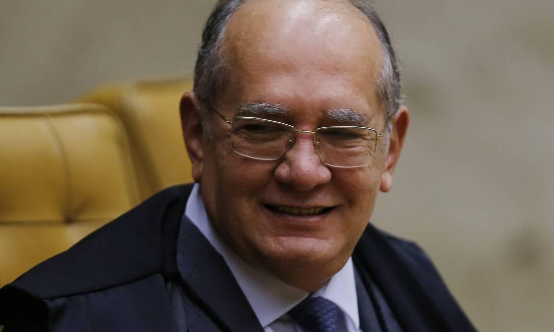 Gilmar Mendes, ministro do STF Foto: Jorge William / Agência O Globo