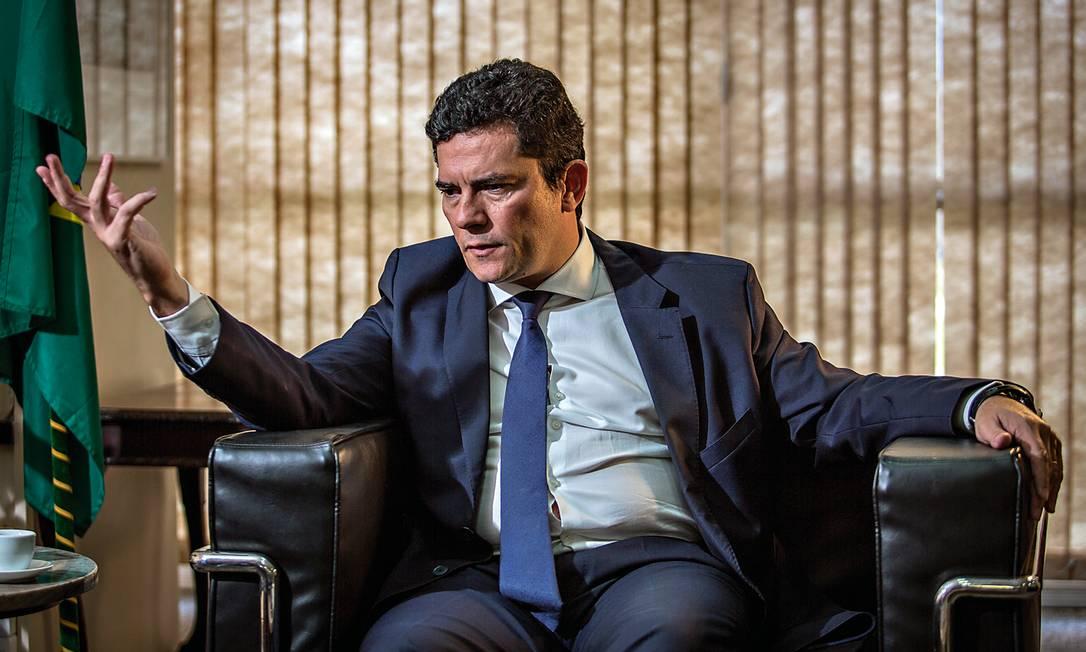 Depois de Sergio Moro entrar na política como ministro de Bolsonaro, seus atos como juiz foram questionados. Foto: Andre Coelho / Getty Images
