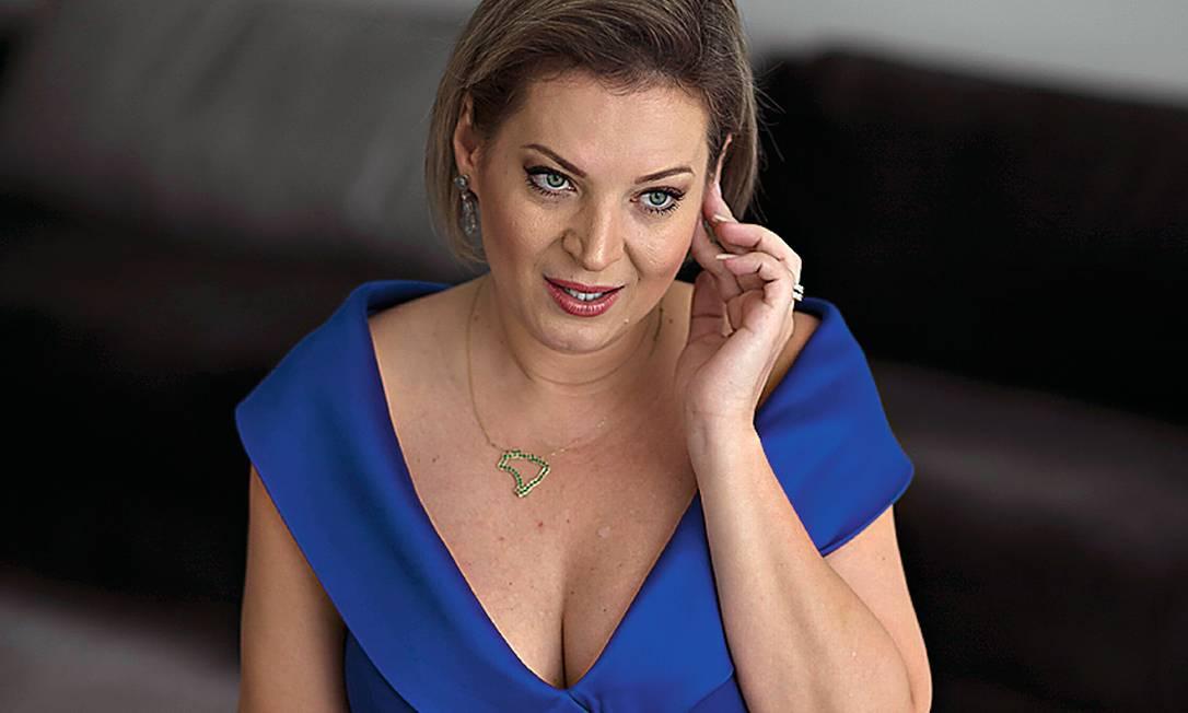 A deputada Joice Hasselmann (SP) vai deixar o PSL Foto: Edilson Dantas / Agência O Globo