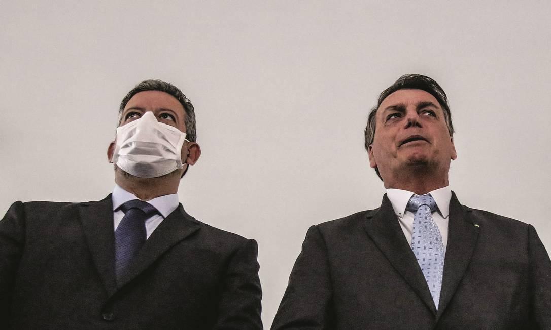 Lira é fiador da entrada de partidos do centrão no governo e, também, quem mais cobra por mudanças na Esplanada. Foto: Gabriela Biló / Estadão Conteúdo