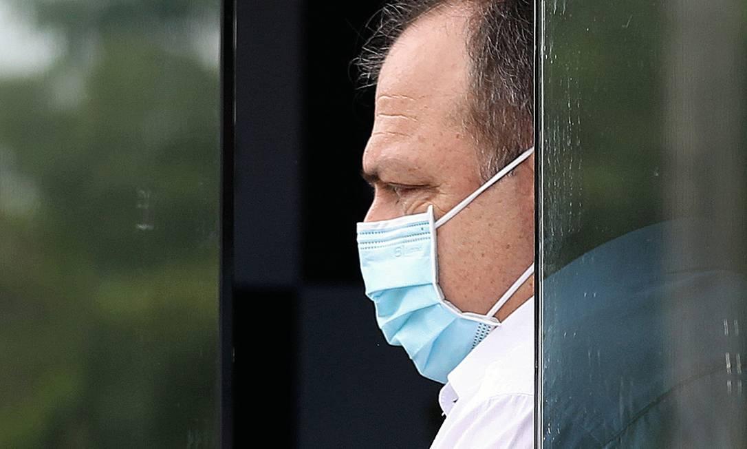 Eduardo Pazuello (na foto) será substuído pelo cardiologista Marcelo Queiroga. Futuro do general ainda é incerto Foto: Bruno Kelly / Reuters