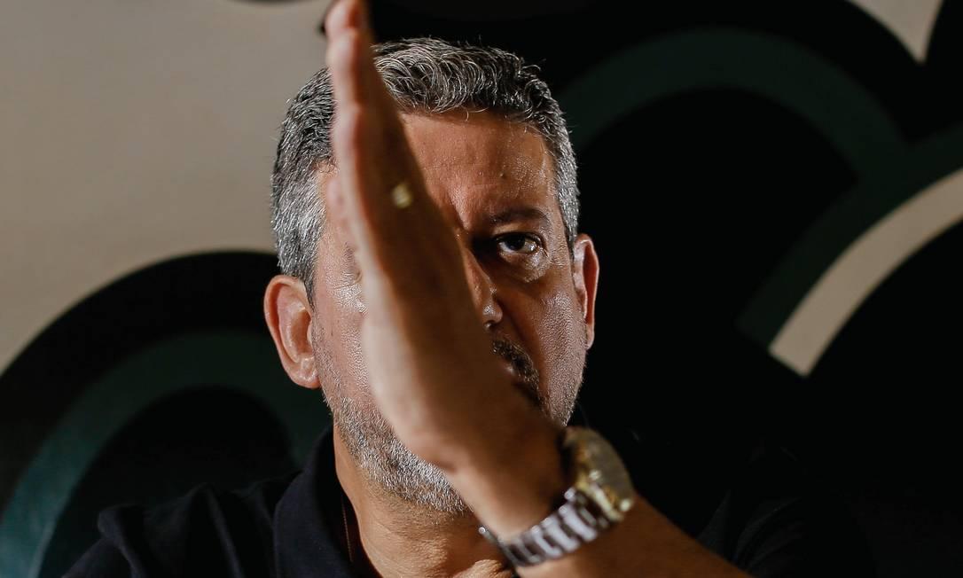Arthur Lira não comentou as trocas ministeriais e a crise militar. Foto: Sergio Lima / Agência O Globo