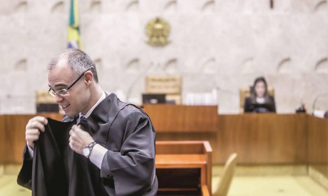 André Mendonça já atuou no STF, mas como advogado-geral da União defendendo o governo Bolsonaro. Foto: Gabriela Biló / Estadão