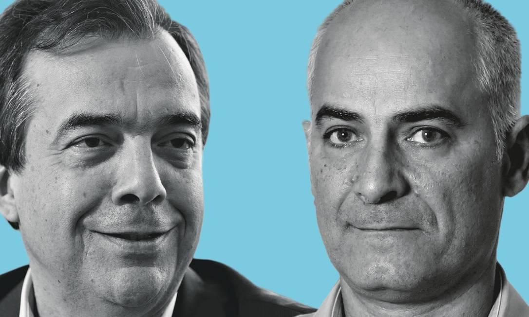  Foto: Montagem sobre fotos de Paula Giolito / Agência O Globo; e Fabio Rossi / Agência O Globo