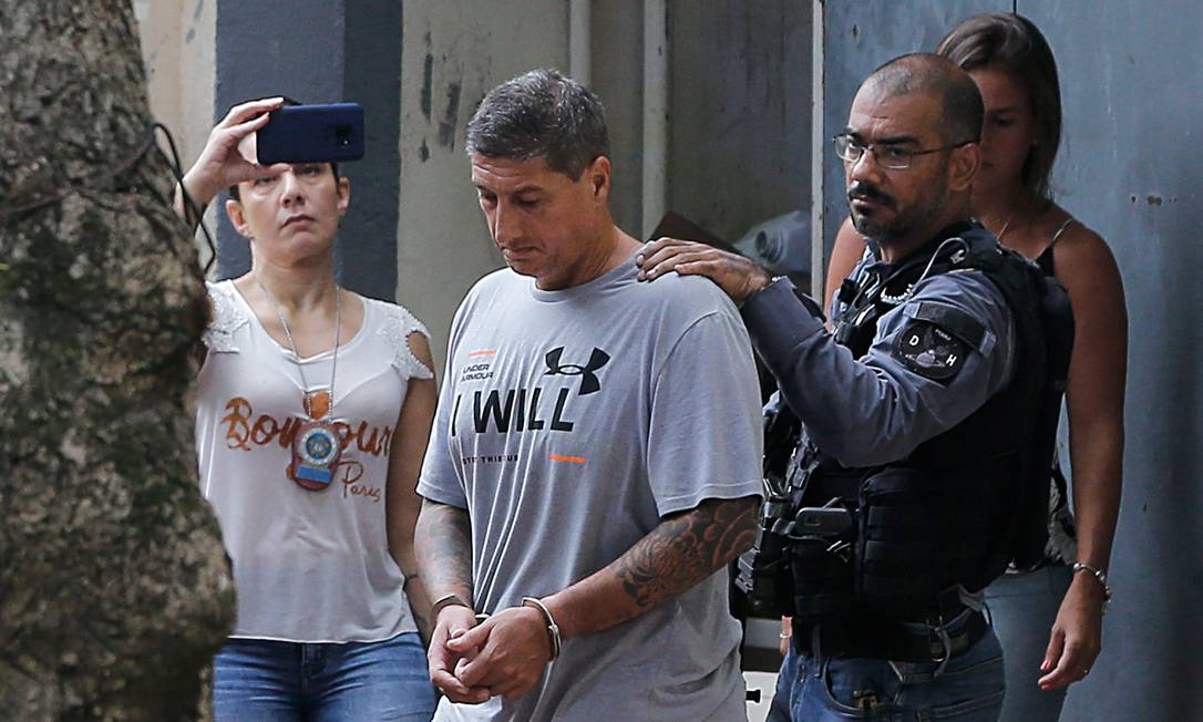 Ronnie Lessa, acusado de matar a vereadora Marielle Franco Foto: Pablo Jacob / Agência O Globo