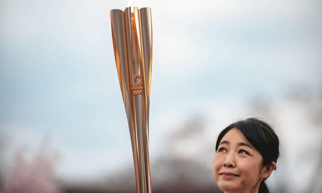 Os preparativos para a Olimpíada estão na reta final. Foto: Philip Fong / AFP