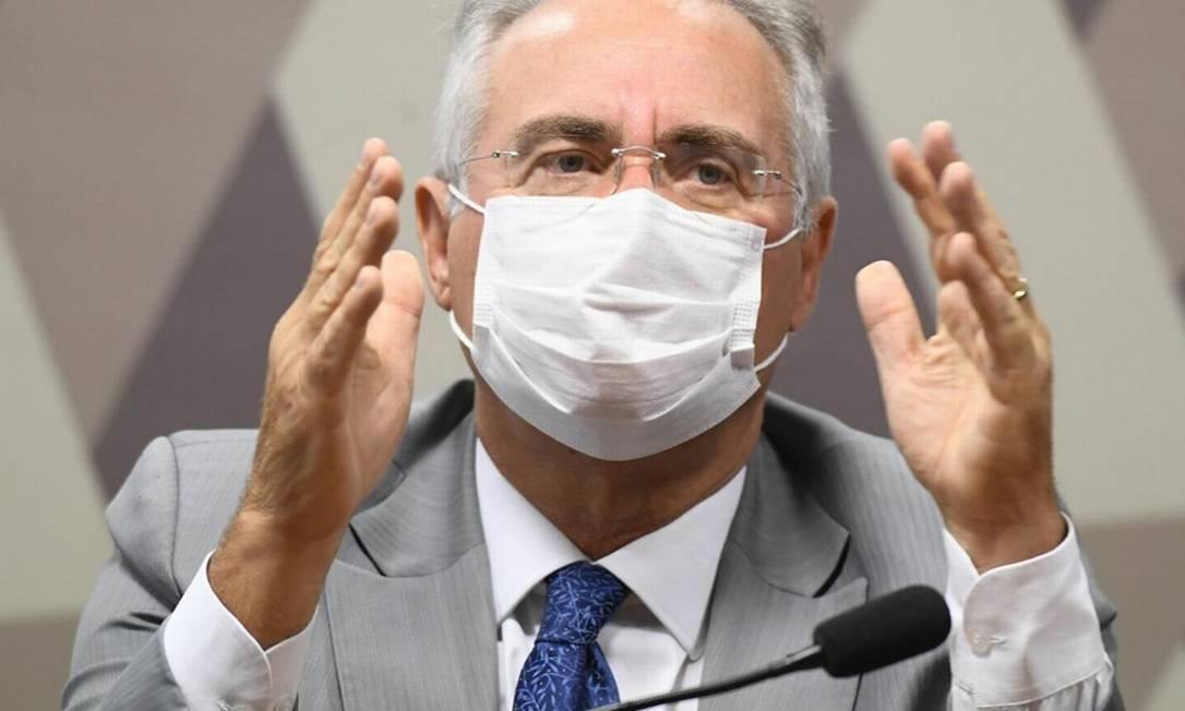 O senador alagoano tomou posse no colegiado criticando Pazuello e o negacionismo do governo. Foto: Jefferson Rudy / Agência Senado