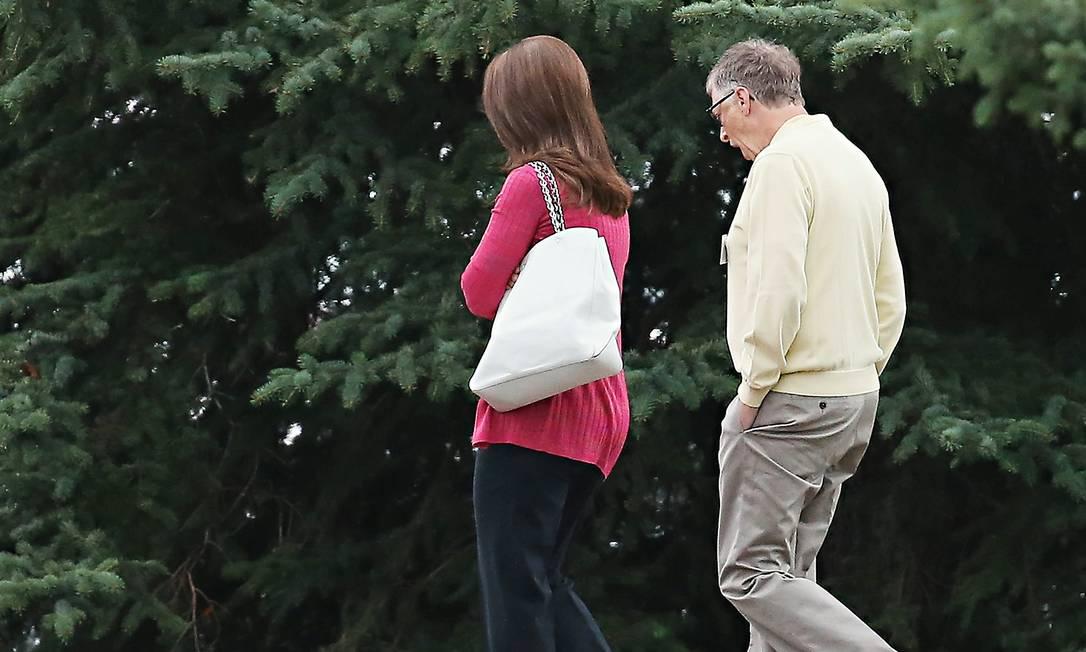 Bill e Melinda Gates terminaram o casamento de 27 anos. Foto: Scott Olson / Getty Images