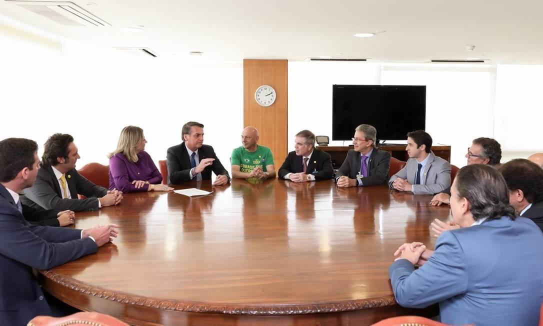 Bolsonaro demandou ajuda direta de empresários na reforma Foto: Divulgação
