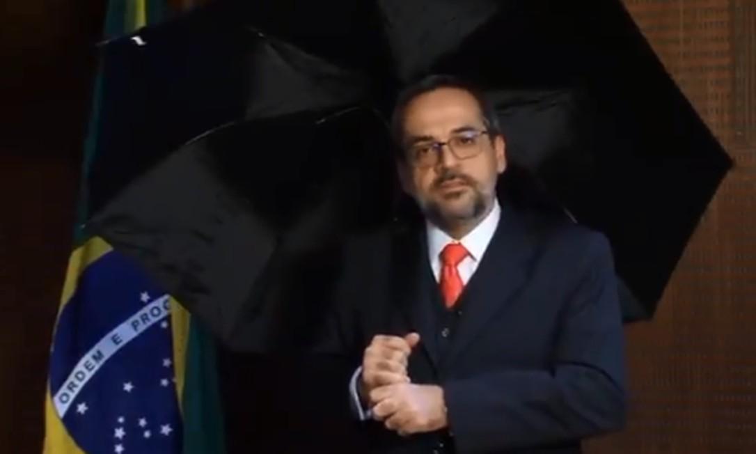 Abraham Weintraub, ministro da Educação Foto: Reprodução