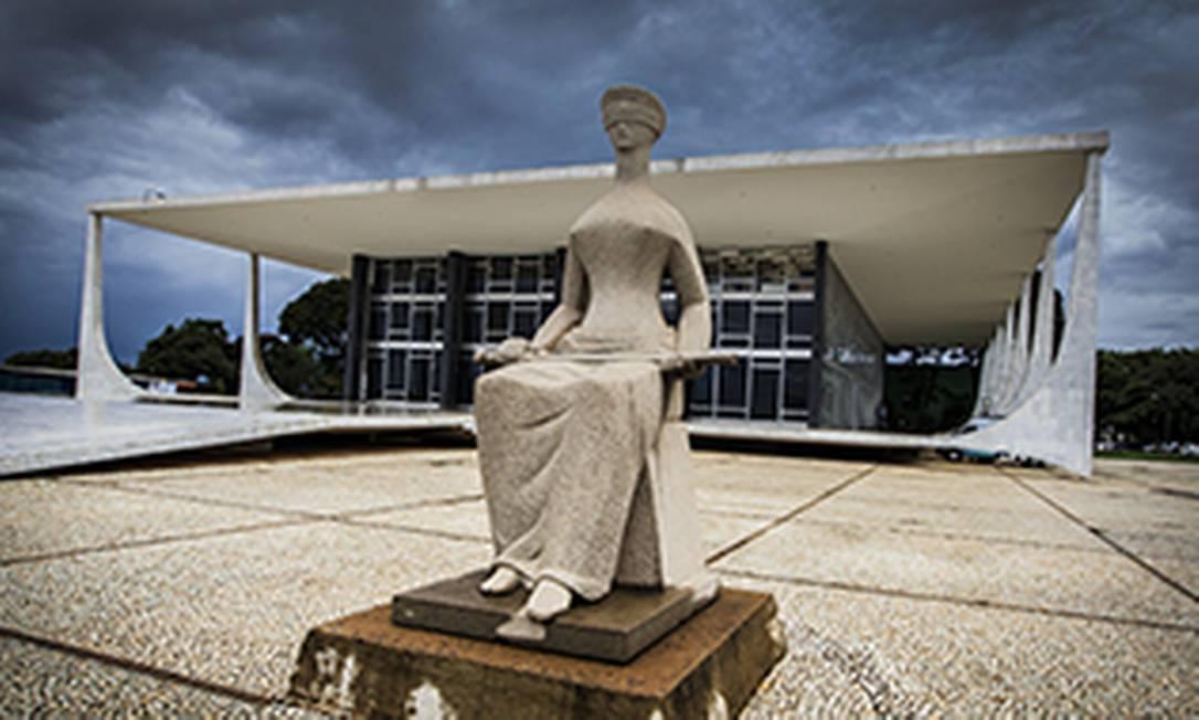 Fachada do Supremo Tribunal Federal, em Brasília Foto: Dorivan Marinho / Divulgação STF