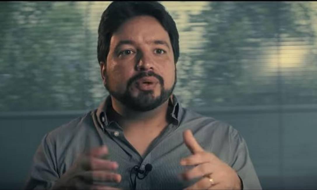 O ex-assessor especial do Ministério da Educação Silvio Grimaldo Foto: Reprodução/Youtube