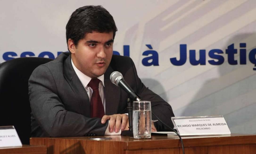 O procurador federal Ricardo Marques de Almeida Foto: Divulgação