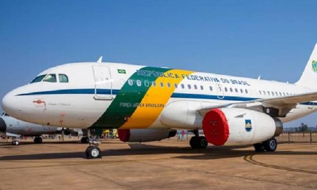 Avião da FAB Foto: Agência Força Aérea