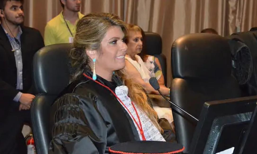 Desembargadora Marianna Fux, filha do ministro do STF Luiz Fux Foto: Divulgação/TJRJ