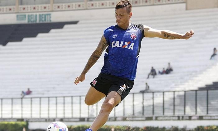 Bernardo, do Vasco Foto: Marcelo Sadio / Vasco