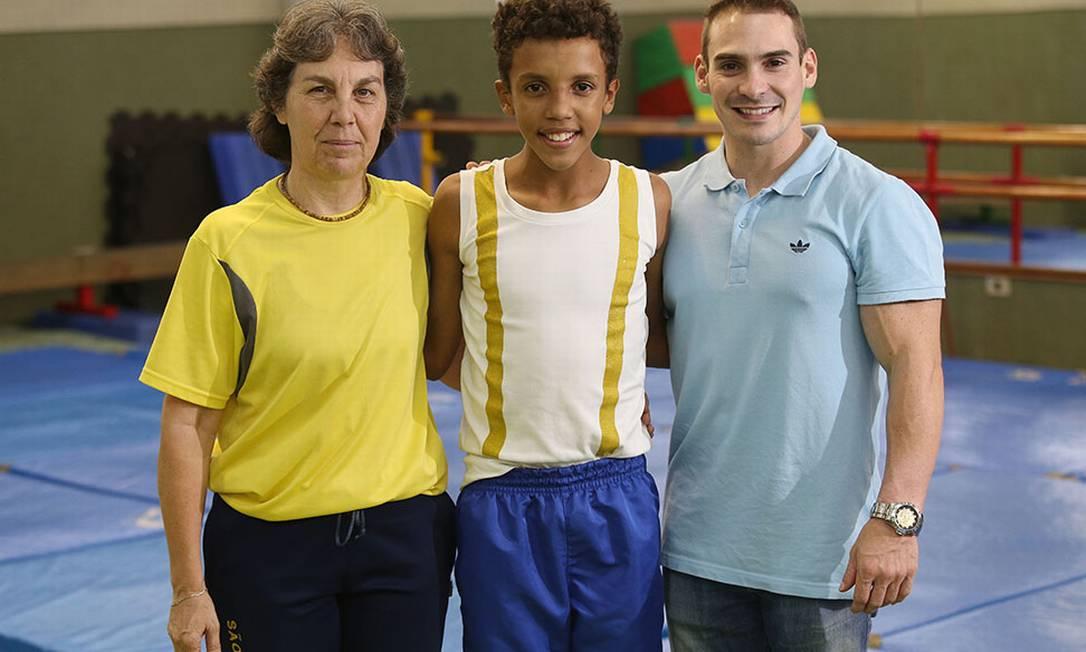 A professora Rita de Cassia, que dá aulas a Guilherme Eduardo Viana