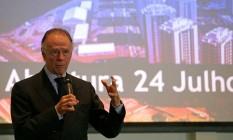 Presidente longevo. Comandante do Comitê Olímpico do Brasil (COB) desde 1995, Nuzman, de 74 anos Foto: Márcio Alves / Márcio Alves/23-6/2016