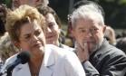 Dilma e Lula decidiram não comparecer à abertura dos Jogos Olímpicos Foto: Givaldo Barbosa / Agência O Globo
