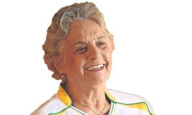 Aos 85 anos, Ruth Valente assistirá a sua oitava Olimpíada, com ingressos para todos os dias de competição no Rio Foto: Marcos Alves