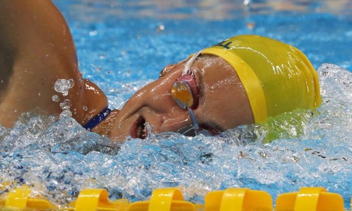 Na foto, a nadadora australiana Cate Campbell Foto: Jorge William / Agência O Globo