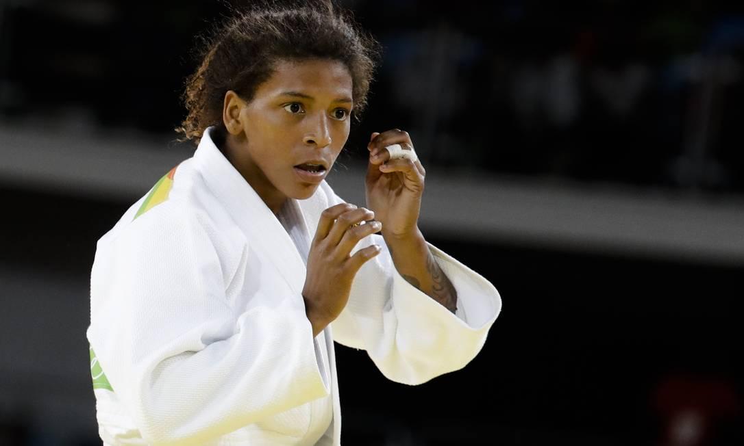 Rafaela Silva está na semifinal do judô (categoria até 57 quilos) nos Jogos Olímpicos do Rio Markus Schreiber / AP