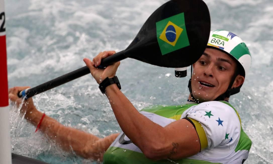 O brasileiro Pedro Henrique da Silva terminou a competição na sexta colocação Marcelo Carnaval / Agência O Globo
