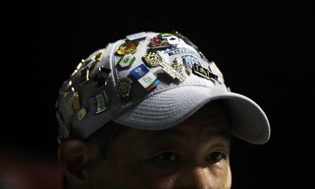 Os pins fazem a alegria dos colecionadores Mike Groll / AP