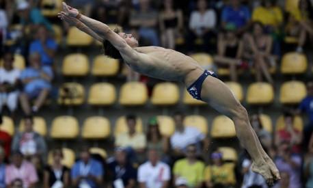 O britânico Tom Daley conquistou sua segunda medalha olímpica nps jogos do Rio-2016 Foto: Wong Maye-E / AP
