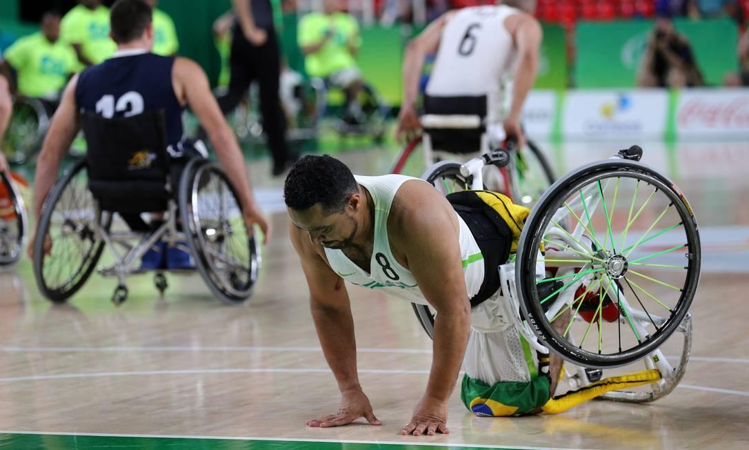 Brasil e Estados Unidos, no primeiro dia de competição da Paralimpíada Pablo Jacob / Agência O Globo