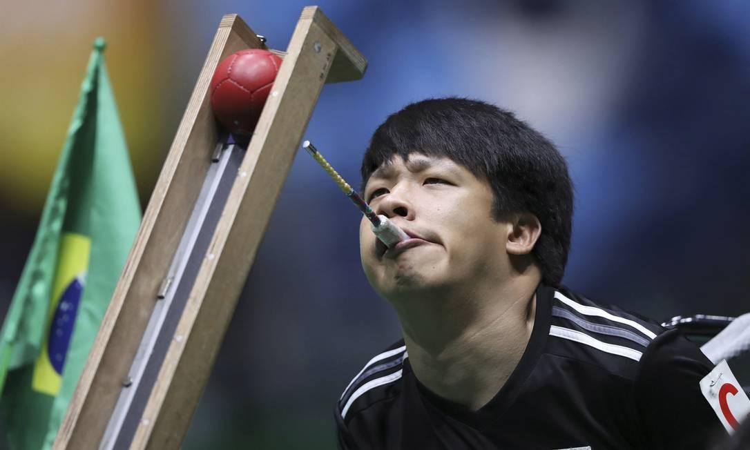 Jeong Ho Won, do time sul-coreano Foto: UESLEI MARCELINO / REUTERS