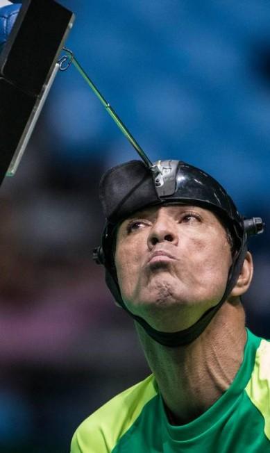 O Brasil, com os paulistas Antonio Leme e Evelyn Vieira e a pernambucana Evani Soares (reserva), venceu a Coreia do Sul por 5 a 2 na final das duplas mistas, categoria BC3 Daniel Zappe / MPIX/CPB