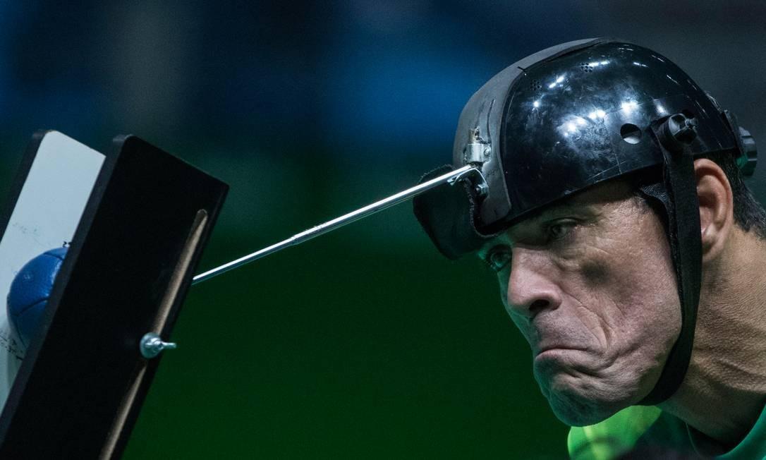 Brasil ganhou o ouro na final da bocha, nas duplas mistas, categoria BC3 Foto: Daniel Zappe / MPIX/CPB