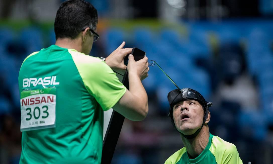 Brasil ganhou o ouro na final da bocha, nas duplas mistas, categoria BC3 Daniel Zappe / MPIX/CPB