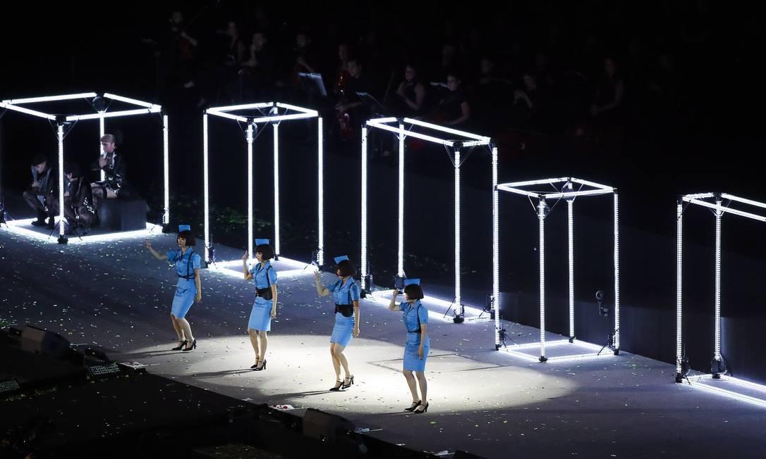 O Japão fez uma apresentação para antecipar os Jogos Paralímpicos que vão acontecer no país, em 2020 Foto: Guilherme Leporace / Agência O Globo