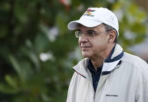 Eduardo Bandeira de Mello, presidente do Flamengo Foto: Guito Moreto / Agência O Globo