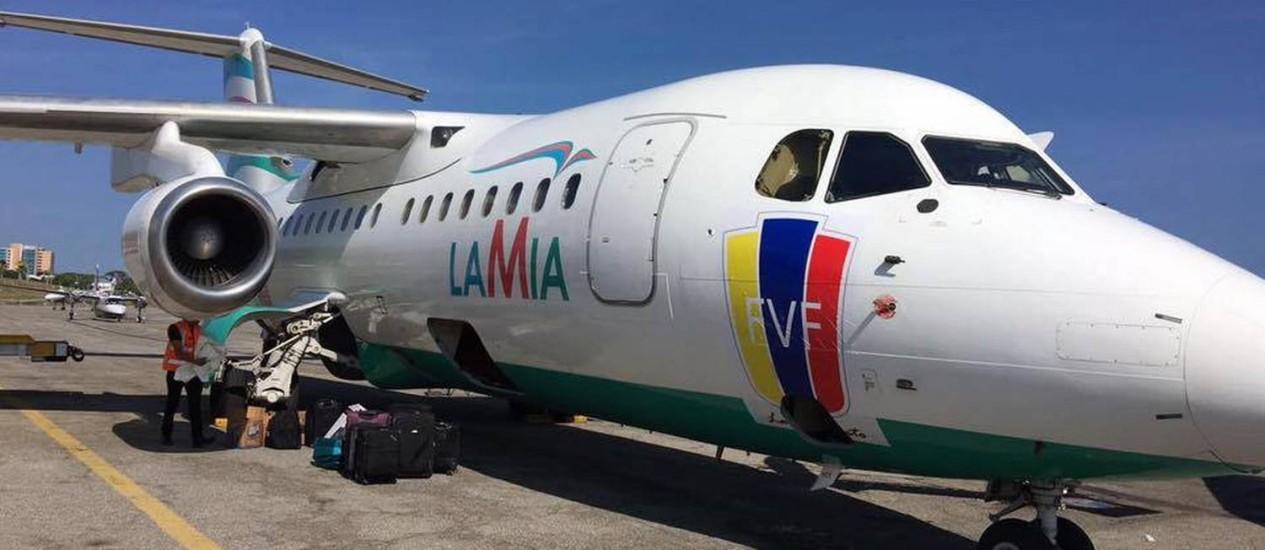 Resultado de imagem para fotos do avião da lamia