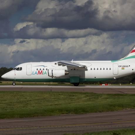 Avro RJ85: modelo caiu com a equipe da Chapecoense. Foto: MATT VARLEY / REUTERS