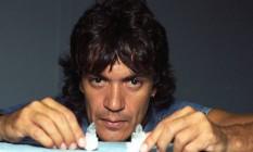 Carlos Kaiser em foto de 1995 Foto: Fernando Maia/Agência O Globo