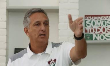 Após saída do COB, Marcus Vinícius assumiu o cargo de CEO do Fluminense Foto: Fabio Guimaraes / Agência O Globo