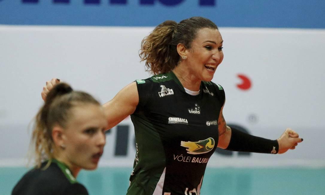 Tiffany afirma que é bem recebida no vôlei feminino Foto: Agência O Globo