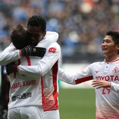 Nagoya Grampus venceu Gamba Osaka por 3 a 2, fora de casa Foto: Divulgação