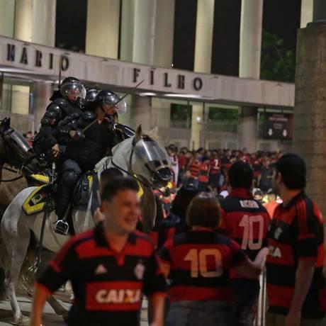 Final da Copa Sul-Americana entre Flamengo x Independiente Foto: Marcio Alves / Agência O Globo