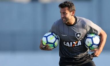 Alberto Valentim treinador do Botafogo Foto: Vitor Silva / SSPress/Botafogo